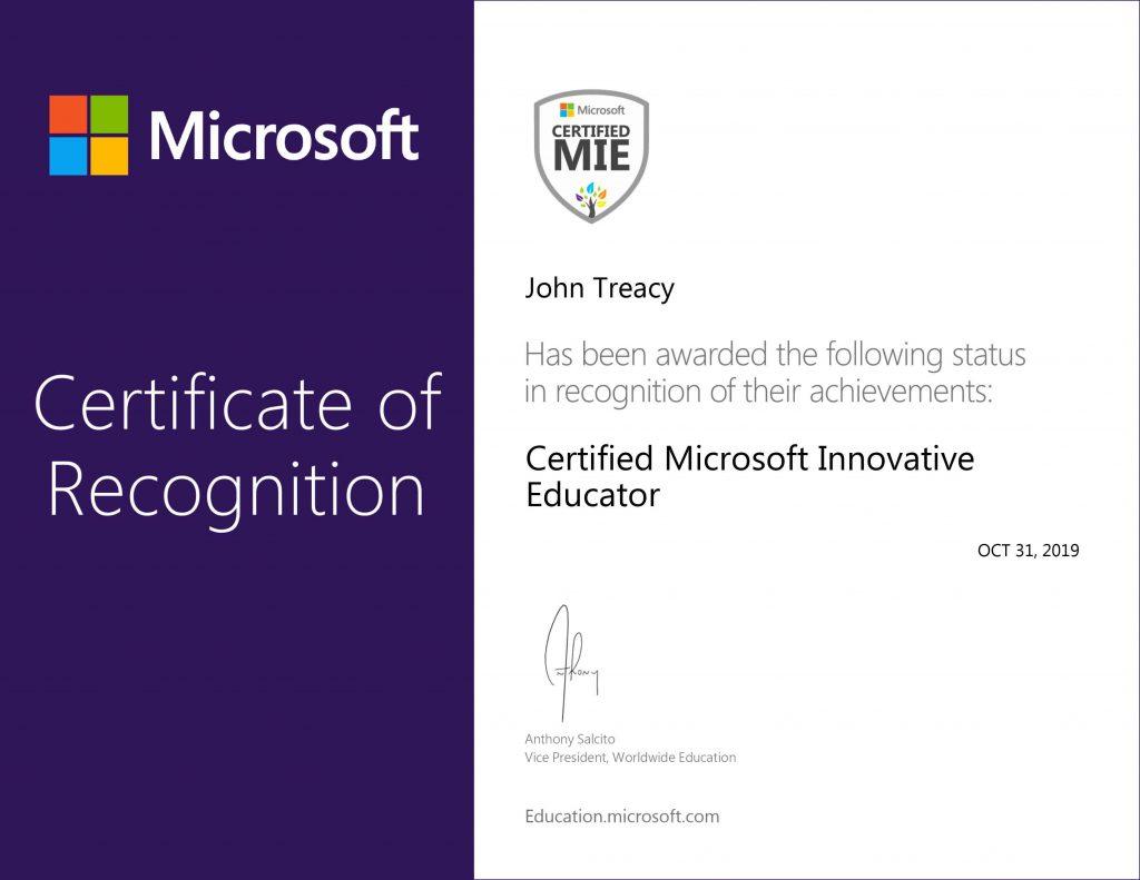 MIE_Microsoft_Certificate1